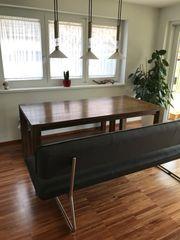 Esszimmer Tisch massives Holz mit