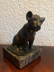 Berta Weimann - Skulptur junger Löwe