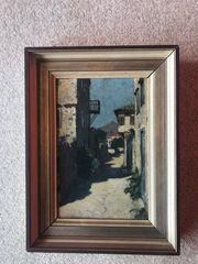 Gemälde Gässchen in Lemnos