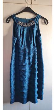 Kleid Gr 40 türkisblau Festkleidung
