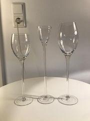Gläserset bestehend aus 10 Stück
