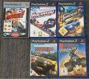 PlayStation 2 Spiele - 5 für