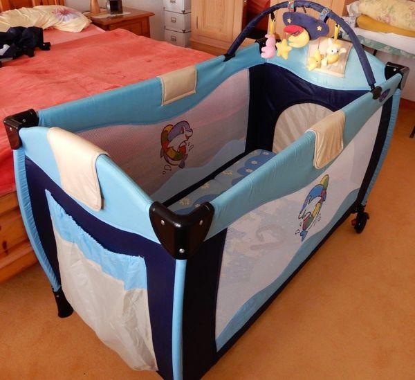 Kinder Baby Reisebett Hauck mit