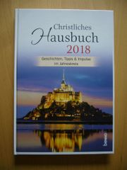 Kalender Buchkalender Christliches Hausbuch 2018 -