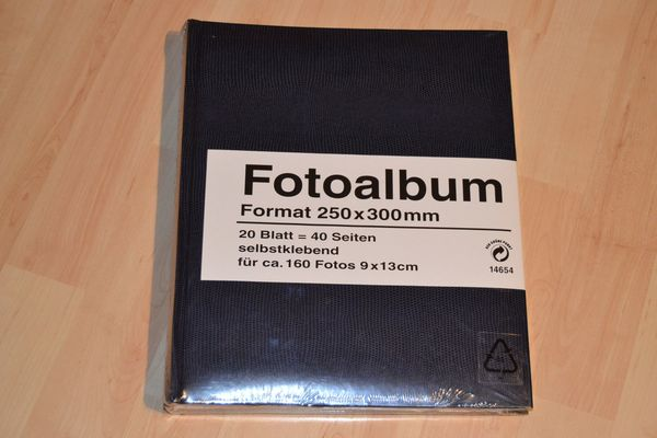 Verkaufe Fotoalbum Format 250mm x