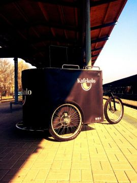 Imbisswagen Kaffee Fahrrad mobiles Café: Kleinanzeigen aus Lampertheim - Rubrik Gastronomie, Ladeneinrichtung