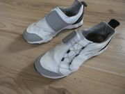 Jungen Leder Walking Schuhe Weiß