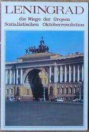 10 Karten UdSSR Leningrad Postkarte