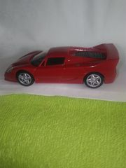Ferrari F50 Shell-V-Power-Edition Modellauto rot