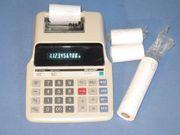 Tischrechner mit Drucker Sharp EL-1625H