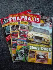 Oldtimer-Praxis-Zeitschriften