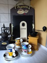 Kaffeemühle Espresso-Service und Anderes für
