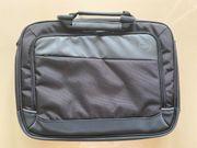 Laptoptasche Nylon schwarz