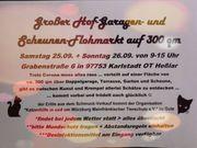 XXL-Hofflohmarkt aus Auflösung auf 300qm