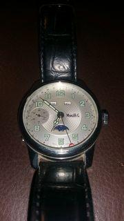 Armbanduhr Marcello C mit Glasboden