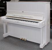 Klavier Burger Jacobi U837 weiß
