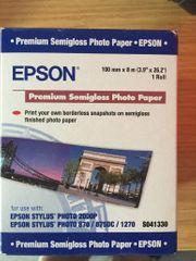 Fotopapier EPSON auf Rolle