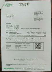 Thermomix TM6 NEU OVP KOMPLETT