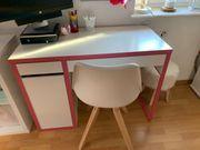 Schreibtisch weiß 105x50cm