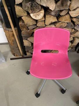 Büromöbel - Ikea Schreibtischstuhl Stuhl pink TOP