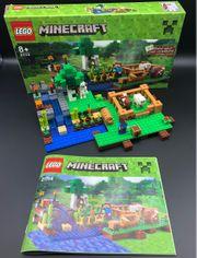 LEGO Minecraft 21114 vollständig mit