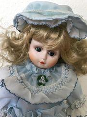 Sammler Puppe 30 cm Porzellan