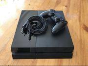 PlayStation 4 mit allen Zubehör