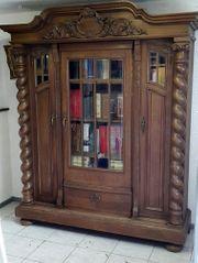Antiker Bücherschrank Gründerzeit um 1900
