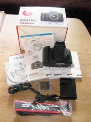 Kamera Canon EOS 750D mit