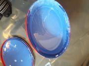 Hochwertige Dispersionsfarbe blau