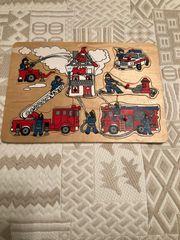 5 Steckpuzzle von Haba und