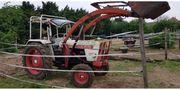 Traktor mit Fronthydraulik