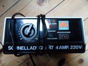 Akku Schnellladegerät Tronico 220V 4A
