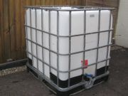 Wasserfass Wassertank Fass IBC Tank