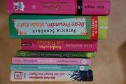 7 Mädchen Jugendbücher divers