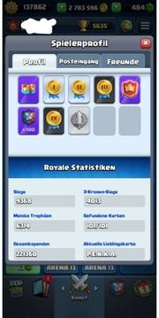 Clash Royale Account Lv fast