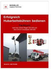 Erfolgreich Hubarbeitsbühnen fahren Fachbuch DGUV