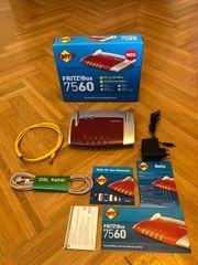 Fritz Box 7560 in Originalverpackung