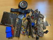 eitech Konvolut Einzelteile Metallbaukasten