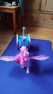 Barbie Puppen Mariposa und Kutsche