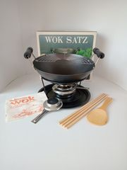 Mini Wok Set mit Zubehör