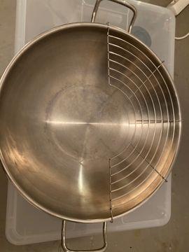 Silit Wokpfanne- Edelstahl - 37cm Durchmesser: Kleinanzeigen aus Reilingen - Rubrik Haushaltsgeräte, Hausrat, alles Sonstige