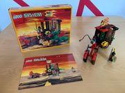 Lego System 6056 Drachenwagen Käfig