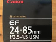 Canon EF 24-85mm 3 5-4