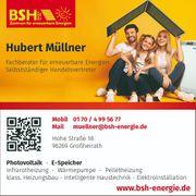 BSH Fachberater für erneuerbare Energie