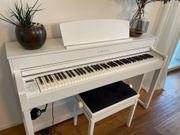 YAMAHA DIGITAL PIANO SET WEISSE