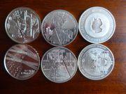 10EUR Münzen Satz 2003