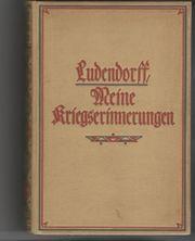 Ludendorff Kriegserinnerungen 1917-1918