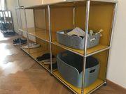USM Haller Sideboard gelb neuwertig