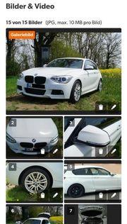 BMW 120d M Performance alcantara